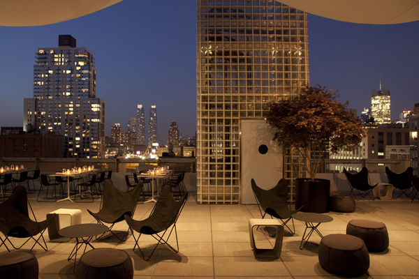 H tel americano new york usa travelmodus for Hotel americano restaurant