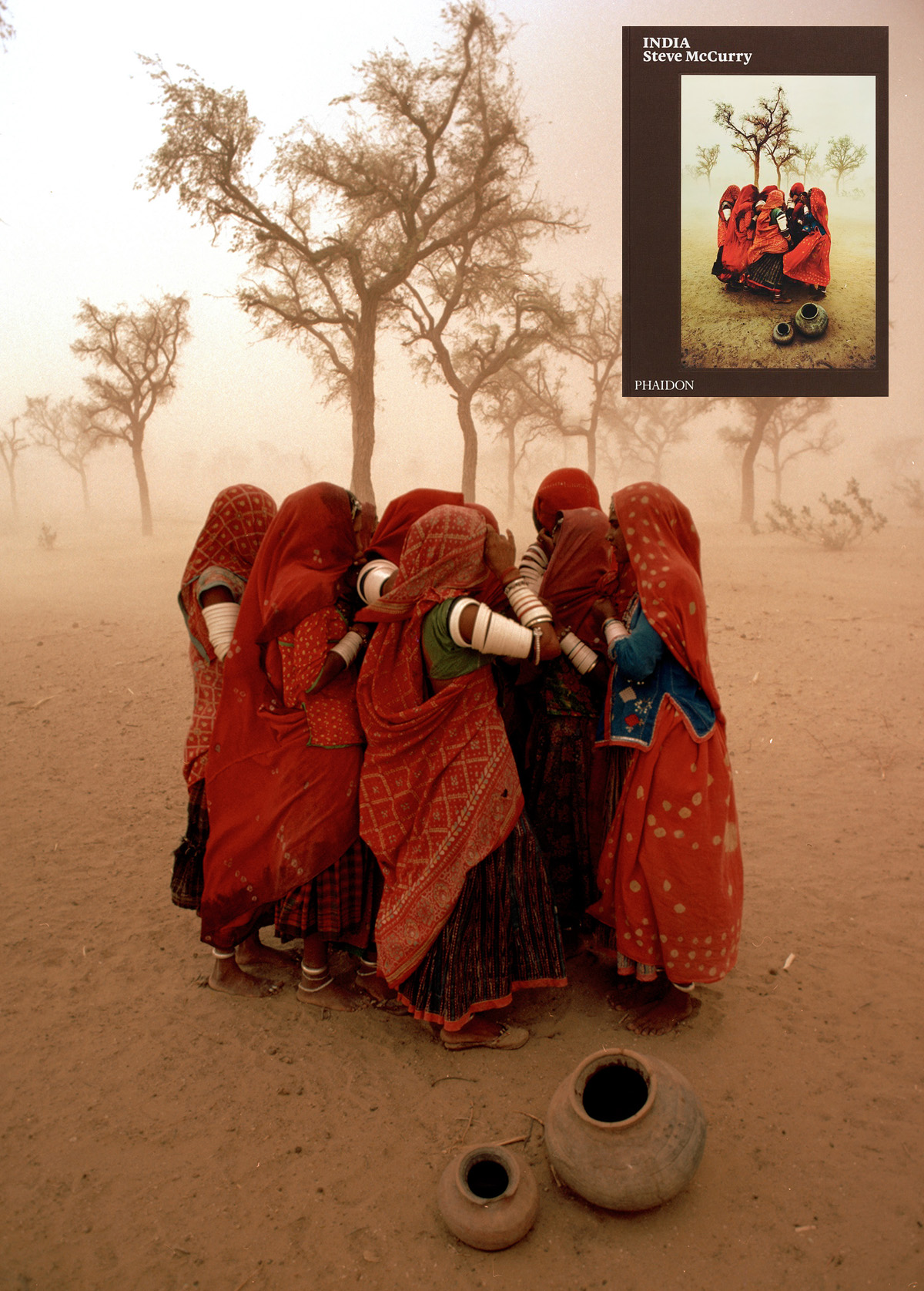 Dust Storm, Rajasthan, India, 1983