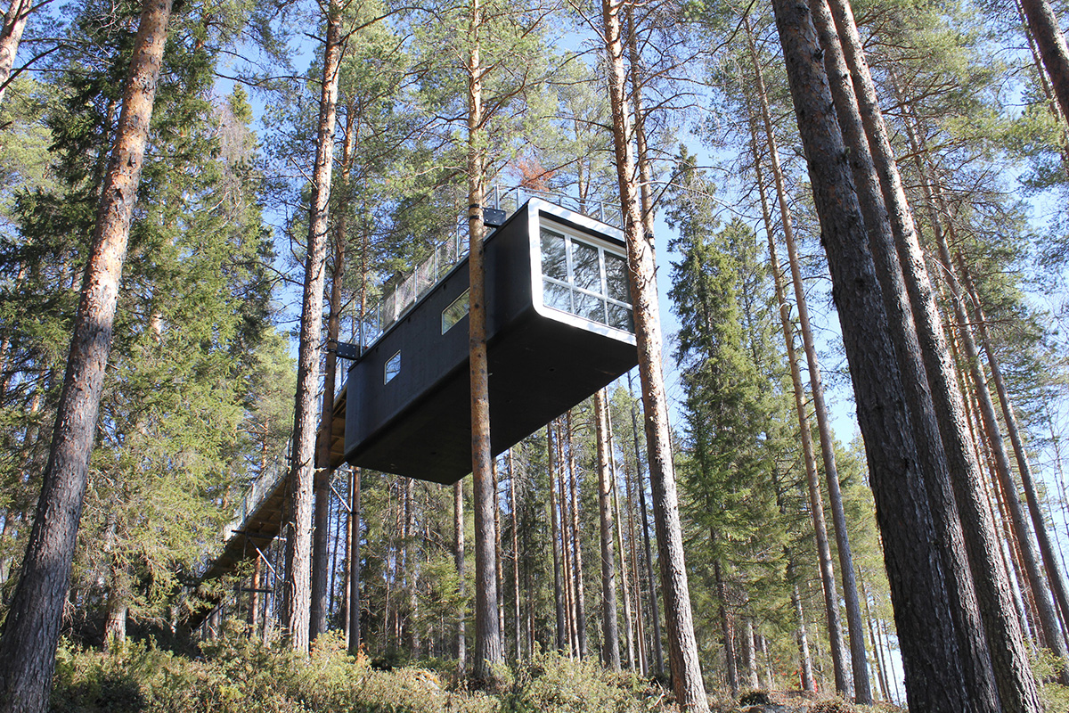 treehotel sweden travelmodus. Black Bedroom Furniture Sets. Home Design Ideas